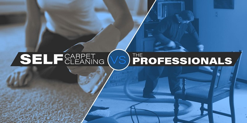 Self-Carpet Cleaning Vs Professional