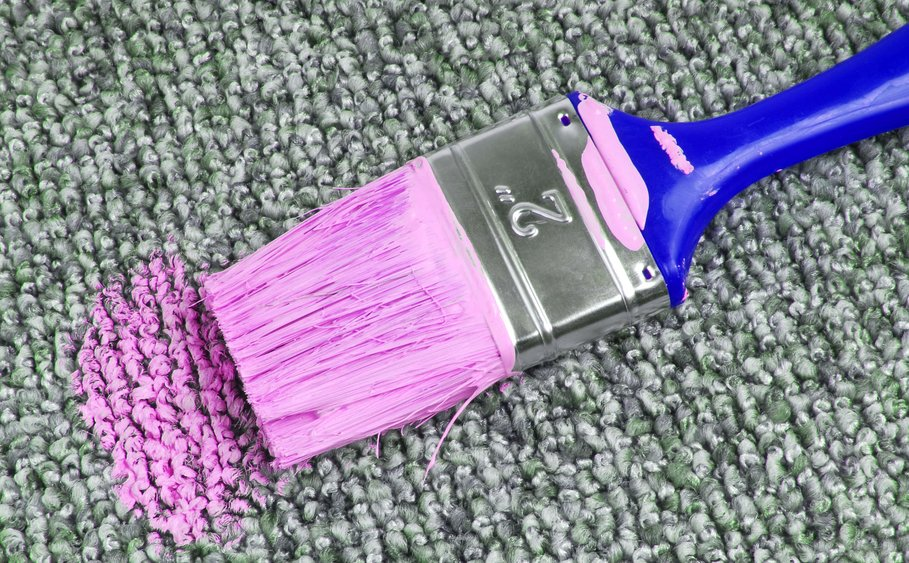How To Remove Paint from Carpet With Steam Cleaning