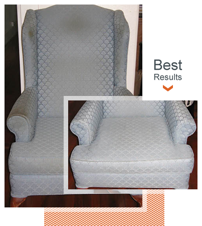 The Best Upholstery cleaning Results